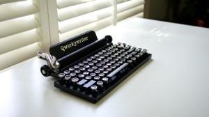 Typewriter風キーボード