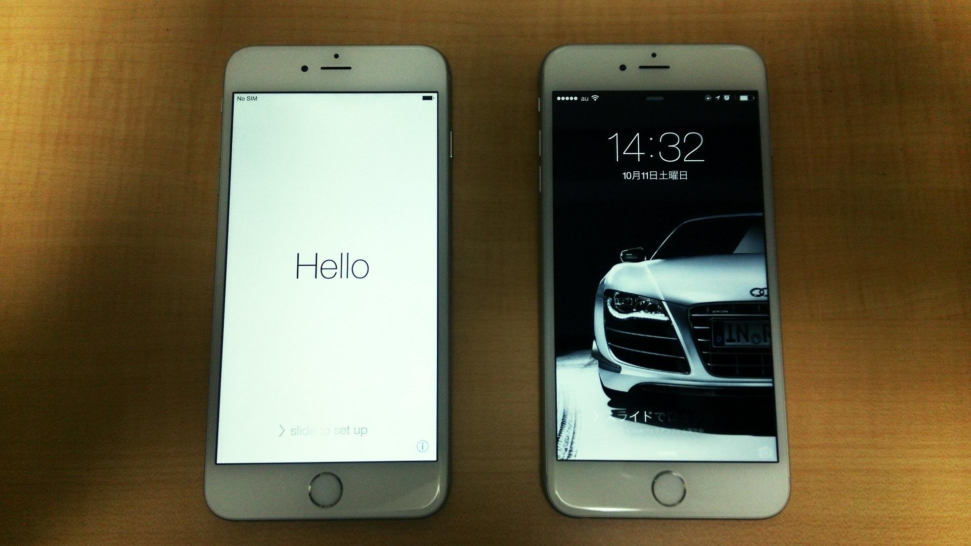 iPhone6 Plus 初期不良の新品交換までの3日間